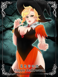 Mercy/Witch from 綿峰