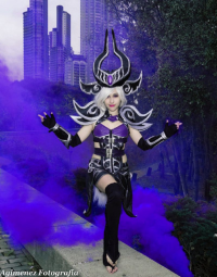 Redfieldclaire as Syndra