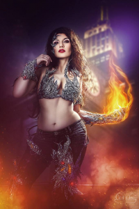La Esmeralda as Witchblade