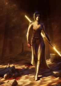 Bastila Shan from Corbin Hunter