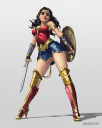 Wonder Woman from Eyald
