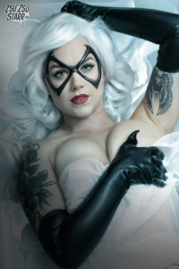 Zsu Zsu Starr as Black Cat