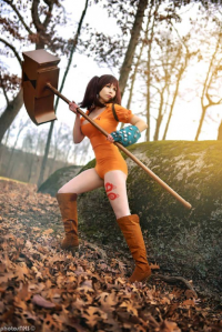 Katinka Cosplay as Diane