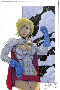 Power Girl von Andre-vaz