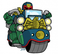 Judge Dredd from Joelcarroll