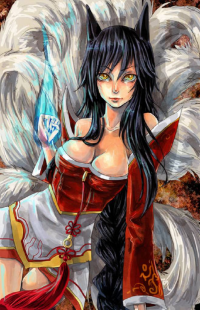 Ahri from bluepierrot