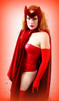 Christa C1313 as Scarlet Witch