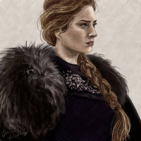 Sansa Stark from Jpaddey