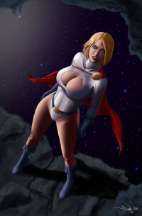 Power Girl from Iury Padilha