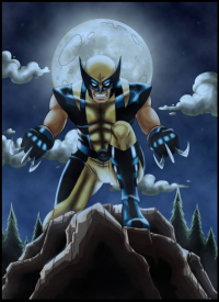 Wolverine from Jamie Fay
