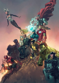 X-Men, The Avengers from Bryan Valenza