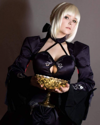 Maridah Cosplay as Saber Alter