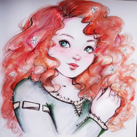 Princess Merida from Nindei