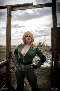 HeatherAfter Cosplay as Sniper Wolf