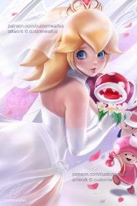 Princess Peach from Customwaifus