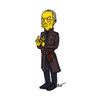 Tywin Lannister/The Simpsons from Adrien Noterdaem