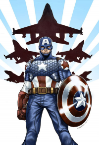 Captain America from Brent Peeples