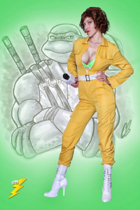 Unknown Female Artist as April O'Neil