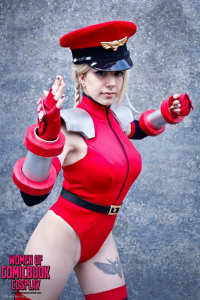 Nethicite Cosplay as Cammy White/Bison