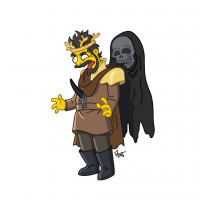 Renly Baratheon/The Simpsons from Adrien Noterdaem