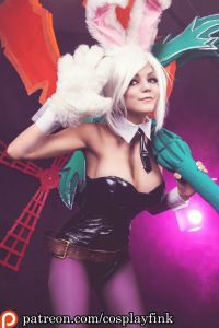 Christina Fink as Riven/Bunny