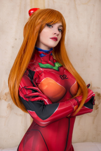 Agos Ashford Cosplay as Asuka Langley Soryu