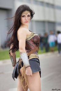 Ambra Aura as Wonder Woman