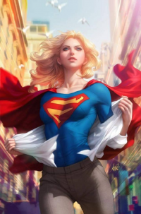 Supergirl from Stanley Lau