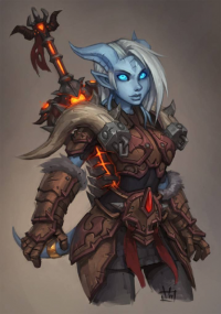 Draenei from Zeon-in-a-tree