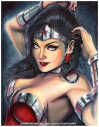 Wonder Woman from J-Estacado