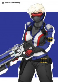 Soldier: 76 from Chanary