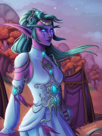 Tyrande Whisperwind from Faebelina