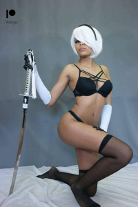 Aaryaecosplay as 2B