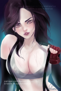Tifa Lockhart from Customwaifus