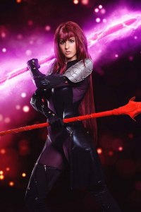 Juby Headshot as Scathach