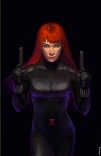 Black Widow from Ayhotte