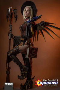 Quinzel Cosplay as Mercy/Witch