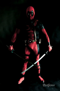 Justin Acharacter as Deadpool