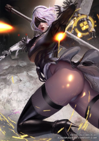 2B from Zumidraws