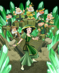 Snow White/Earthbender from Robby Cook