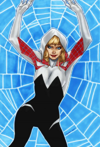Spider Gwen from Brent Peeples