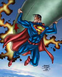 Superman from Digital Colorist
