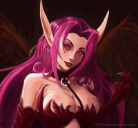 Morgana from Lilith-Fetish