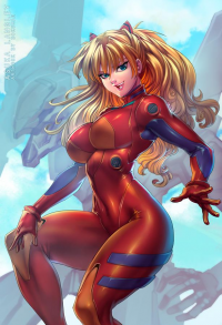 Asuka Langley Soryu from bokuman