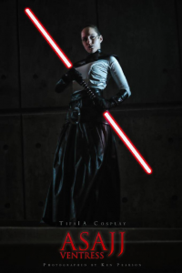 TifaIA Cosplay as Asajj Ventress