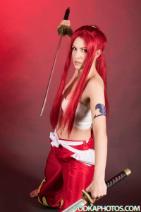 Cosmic Empress as Erza Scarlet