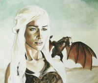 Daenerys Targaryen from Anne LaClair | artist