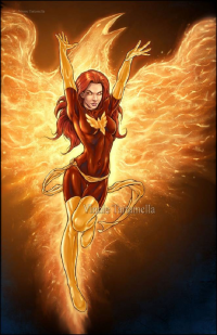 Dark Phoenix from Vinnie Tartamella