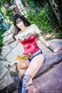 Lossien as Wonder Woman