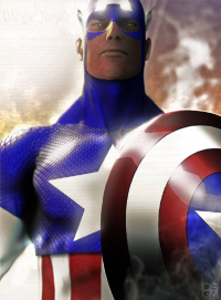 Captain America from archangelgabriel